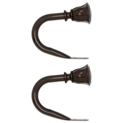 Umbra® Entwine Window Curtain Holdbacks in Bronze (Set of 2)