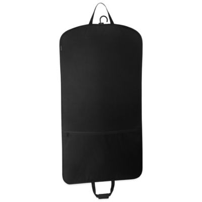 45-Inch Black Garment Bag