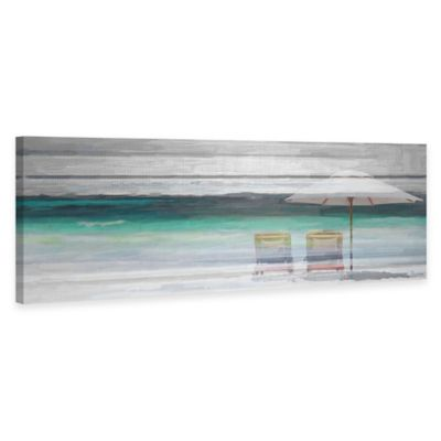 Parvez Taj Beach Life Canvas Wall Art