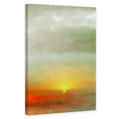 "Parvez Taj ""Miami"" 45-Inch x 30-Inch Canvas Art"