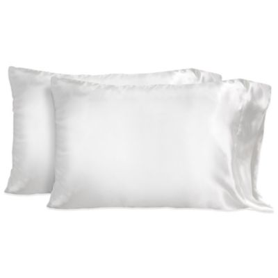 Cloud Standard Pillowcases in White (Set of 2)
