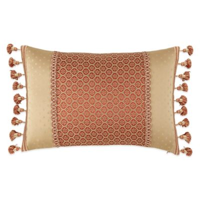 Waterford® Linens Olympia Breakfast Throw Pillow in Persimmon