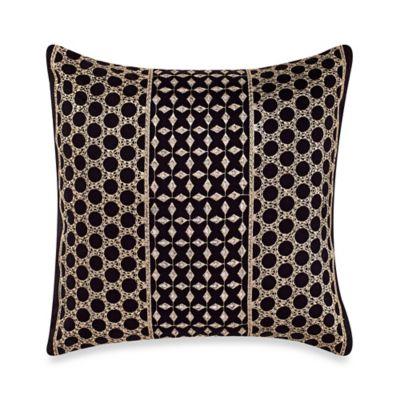 Steve Madden® Cori Square Throw Pillow in Sand