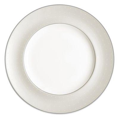 Monique Lhuillier Waterford® Etoile Platinum Dinner Plate