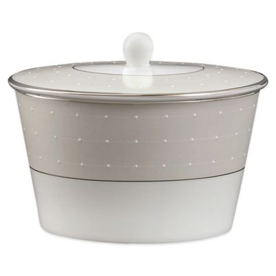 Monique Lhuillier Waterford® Etoile Platinum Covered Sugar Bowl