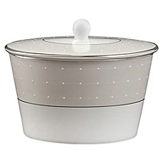 Monique Lhuillier Waterford® Etoile Platinum Covered Sugar Bowl