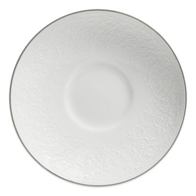 Dishwasher Safe Lace Saucer