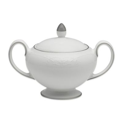 Wedgwood® English Lace Covered Sugar Bowl