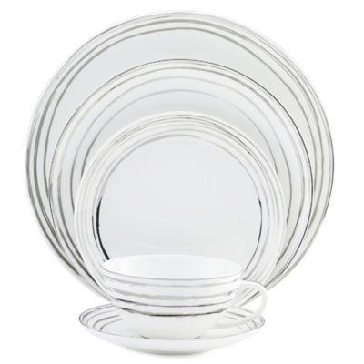 Mikasa® Swirl Platinum 5-Piece Place Setting