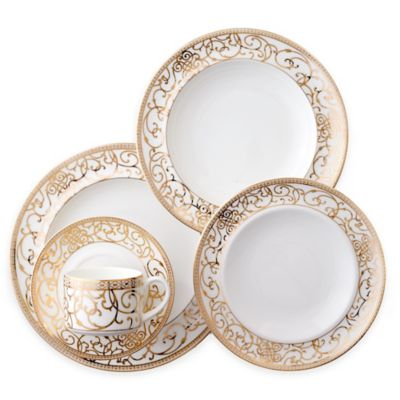 CRU by Darbie Angell Athena 5-Piece Place Setting