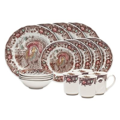 Waterford® Johnson Brothers His Majesty 16-Piece Place Setting