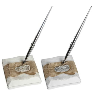 Ivy Lane Design™ Savannah Pen Holder in White