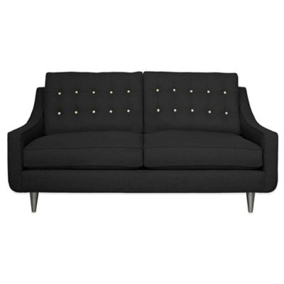 Navy Blue Apartment Sofa