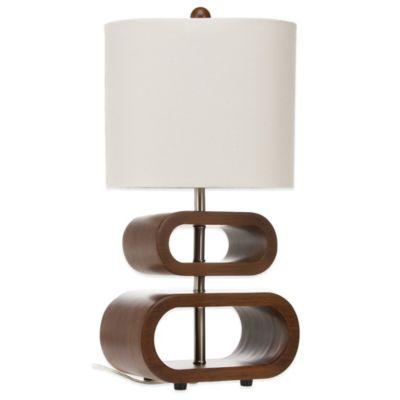 Brown Tan Lamp Base
