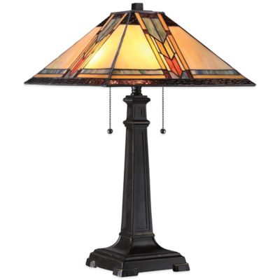 Quoizel Tiffany Aberdeen Table Lamp in Imperial Bronze
