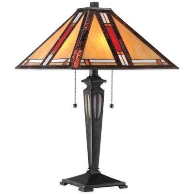 Quoizel Tiffany Arlington Table Lamp in Imperial Bronze