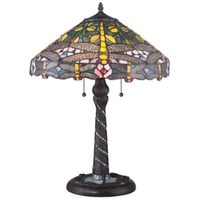 Quoizel Tiffany Jonas Table Lamp