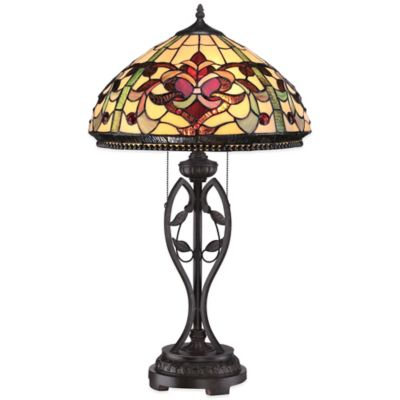 Quoizel Tiffany Kings Pointe Table Lamp in Imperial Bronze