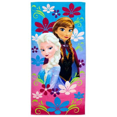 Disney® Frozen Anna and Elsa Beach Towel