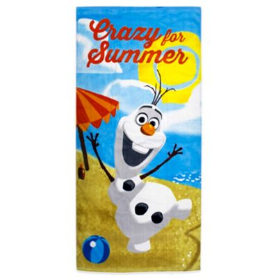 Disney® Frozen Olaf Beach Towel
