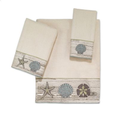 Avanti Vancouver Washcloth in Ivory