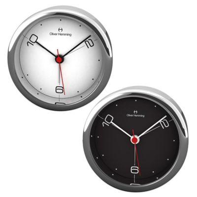 Oliver Hemming Desire Extreme 3-Position Alarm Clock in Black