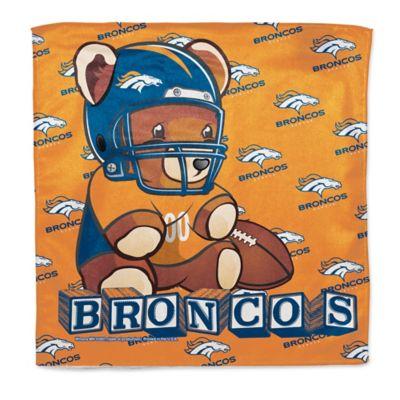 NFL Denver Broncos Littlest Fan Burp Cloth