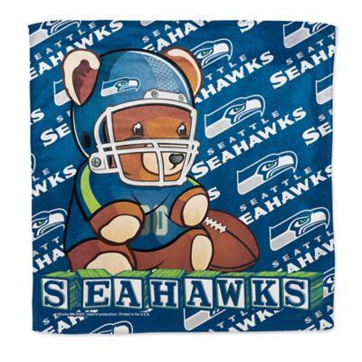 NFL Seattle Seahawks Littlest Fan Burp Cloth