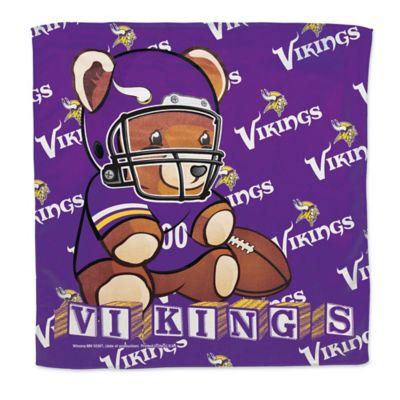 NFL Minnesota Vikings Littlest Fan Burp Cloth