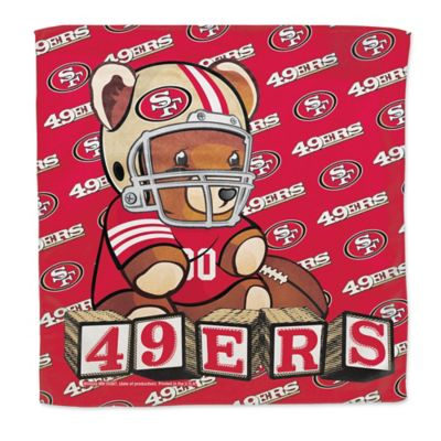 NFL San Francisco 49ers Littlest Fan Burp Cloth