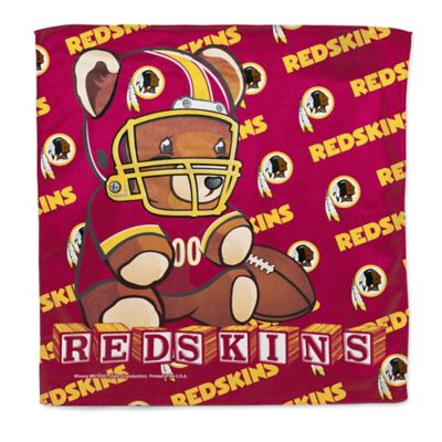 NFL Washington Redskins Littlest Fan Burp Cloth