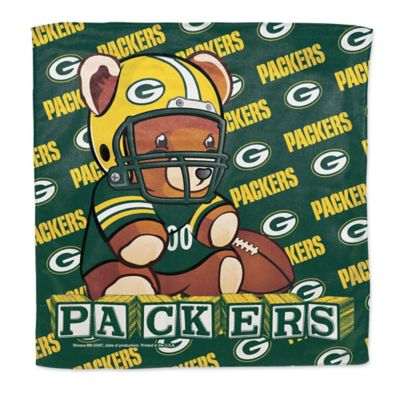 NFL Green Bay Packers Littlest Fan Burp Cloth
