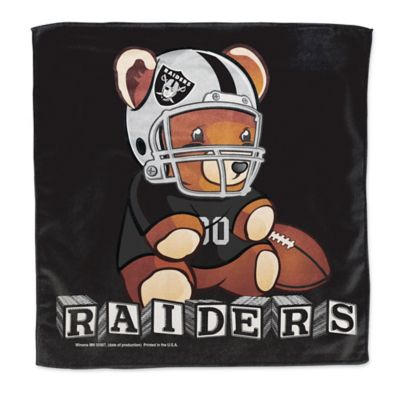 NFL Oakland Raiders Littlest Fan Burp Cloth