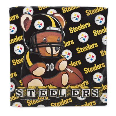 NFL Pittsburgh Steelers Littlest Fan Burp Cloth