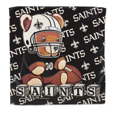 NFL New Orleans Saints Littlest Fan Burp Cloth