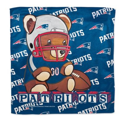 NFL New England Patriots Littlest Fan Burp Cloth