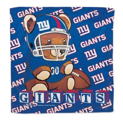 NFL New York Giants Littlest Fan Burp Cloth