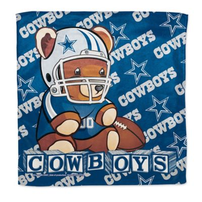 NFL Dallas Cowboys Littlest Fan Burp Cloth