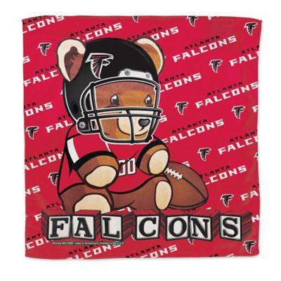 NFL Atlanta Falcons Littlest Fan Burp Cloth