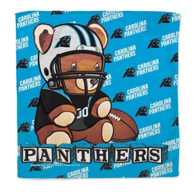 NFL Carolina Panthers Littlest Fan Burp Cloth