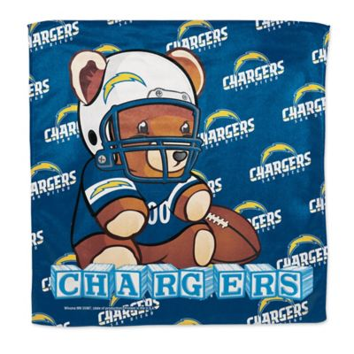 NFL San Diego Chargers Littlest Fan Burp Cloth