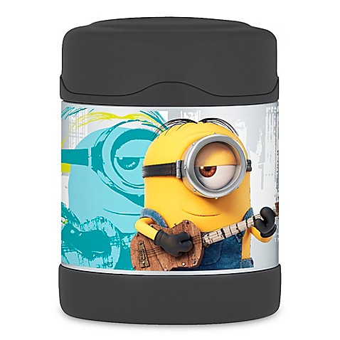 buy thermos funtainers 10 oz minions food jar from bed bath beyond. Black Bedroom Furniture Sets. Home Design Ideas