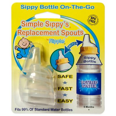 Flipple® 2-Pack Simple Sippy's Replacement Spouts