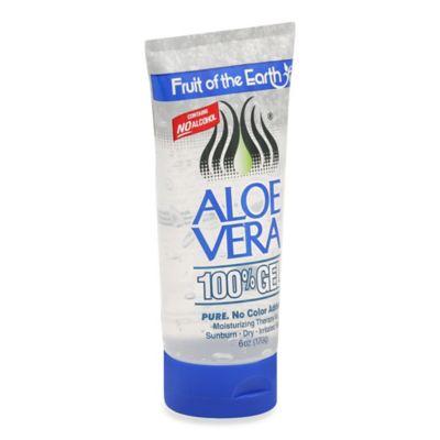 Fruit Of The Earth® 6 oz.100% Aloe Vera Gel Tube