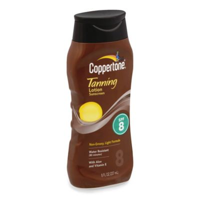 Coppertone® 8 oz. Tanning Lotion Sunscreen SPF 8