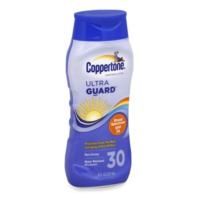 Coppertone® Ultra Guard™ 8 oz. Sunscreen Lotion SPF 30