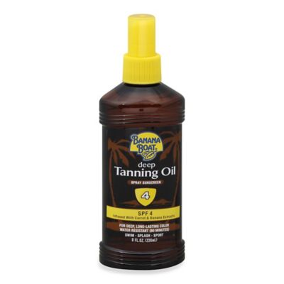 Banana Boat® 8 oz. Deep Tanning Oil Spray Sunscreen SPF 4