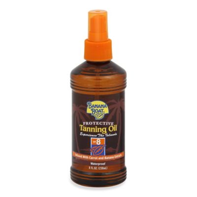 Banana Boat® 8 oz. Protective Tanning Oil Sunscreen Spray SPF 8