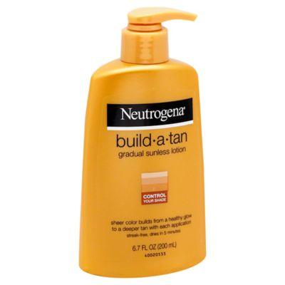 Neutrogena® 6.72 oz. Build-a-Tan Gradual Sunless Lotion