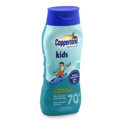 Coppertone® 8 oz. Kids Broad Spectrum Sunscreen Lotion SPF 70+